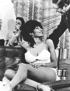 """pam grier in """"foxy brown"""", 1974"""