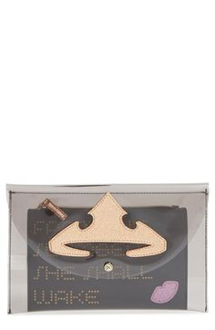 Free shipping and returns on Danielle Nicole x Disney® Sleeping Beauty Clutch at Nordstrom.com. A see-through clutch featuring a glittering tiara opens to reveal an inner zip pouch with a quote about true love's kiss in chic accessory that pays homage to a classic Disney movie.