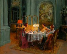Midnight tea 1920s- Soooo me !! Night owl! This was what we did when we had sleep overs when I was growing up.  Great Memories.