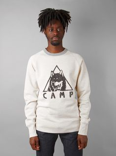 Couverture and The Garbstore - Mens - Garbstore - Vintage Style Printed Sweat Top