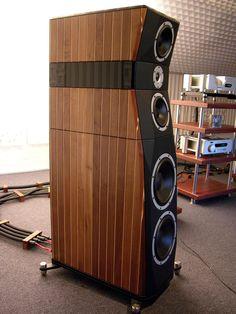 Audiophile Speakers, Hifi Audio, Audio Speakers, Tower Speakers, Built In Speakers, Floor Standing Speakers, Speaker Box Design, Sound Speaker, High End Audio