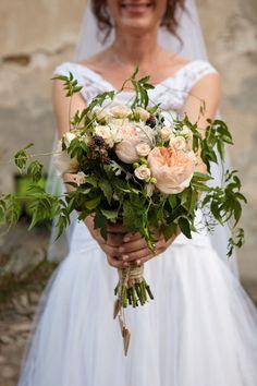 blush pink bouquet // more on: http://weddingwonderland.it/2014/12/matrimonio-handmade-colori-pastello.html