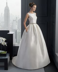 Two by Rosa Clara Bridal Gown Style - 8A147 RIBA