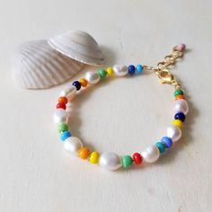 Summer Bracelets, Colorful Bracelets, Seed Bead Bracelets, Jewelry Bracelets, Pearl Bracelets, Seed Beads, Delicate Jewelry, Unique Jewelry, Beaded Jewelry