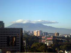 Vista al sur de la Ciudad de Guatemala