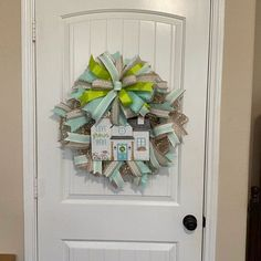 Spring Wreaths, Easter Wreaths, Cross Wreath, Gift Bows, White Lilies, Burlap Ribbon, Deco Mesh Wreaths, Wreaths For Front Door, Porch Decorating
