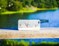 Dering Harbor Co. iPhone 5 / iPhone 5s Custom Case - Shelter Island Snow Fall