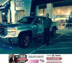 https://flic.kr/p/BEaFau   Happy Anniversary to Mike on your #GMC #Sierra 1500 from Brett Stein at McKinney Buick GMC!   deliverymaxx.com/DealerReviews.aspx?DealerCode=ZAKC