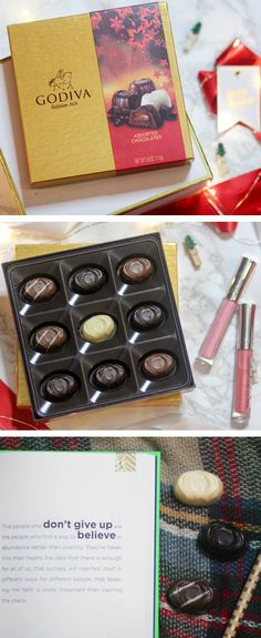 If you're struggling to find the perfect gift for someone on your holiday gift giving list, this post is for you! We're sharing three easy and affordable gift ideas featuring @GODIVA chocolate gift sets from @Walmart. Each idea is easy to customize and budget-friendly! #giveGODIVA #Pmedia #ad