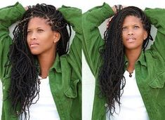 30 Trending African Hairstyles to Check Out Today | Styles At Life African Hairstyles, Braided Hairstyles, Curly Crochet Braids, Dreadlocks, Hair Cuts, Hui, Hair Styles, Beauty, Natural