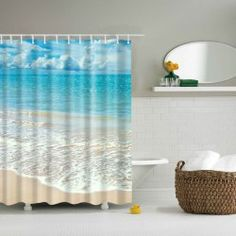 Waterproof Polyester Bathroom Beach Shower Curtain  Hurry Join in Sammydress: Get YOUR $50 NOW! AND GET YOUR CHANCE FOR HAVING IT FOR FREE!!!