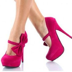 heels  the heels are pink, purple, lilac, black, silver and gray, have one  bun on top of the same color of the  heels,the heel  is 12 cm, we have  size 22 to  27, cost just $ 500.00