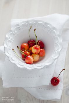 Love these cherries..they aren't around all the time so when they are you have to get some! Yum
