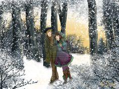 Fairy Winter by Dralamy.deviantart.com on @deviantART