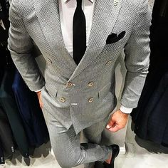 .  .  Follow @____tycoon____ .  .  .  Photo from @gentlemens.crate   #mensfashion #suits