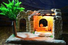 Portal, Diy Crib, Fig, Patio, Christmas, Home Decor, Diorama, Decoration, Christmas Manger