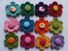 »crochet flowers«