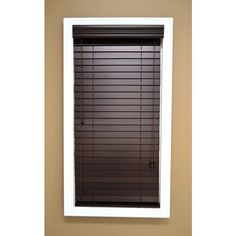 1000 Ideas About Dark Wood Blinds On Pinterest Faux