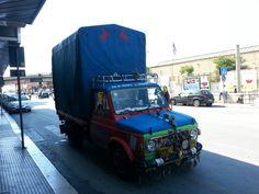 Strange truck in Bari