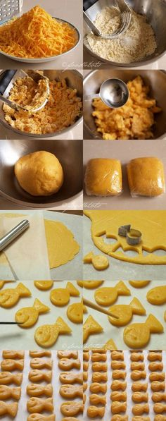 homemade goldfish crackers, homemade cheese crackers, cheese fish crackers,  DIY cookie cutter, toddler, kid snack, food 4 tots