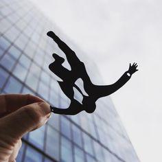 Playful Papercut Juxtapositions with Reality – Fubiz Media