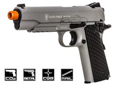 Elite Force 1911 Tactical CO2 Blowback Airsoft Gun ( Grey )