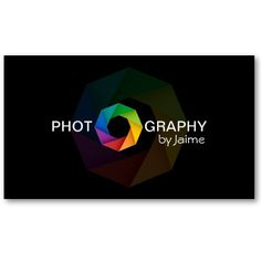 Photographer Business Cards by Socialite Designs