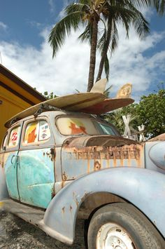North Shore Surf Wagon - North Shore, Hawaii.  The whole area looked like one big Hollister t-shirt.