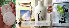 Eco Crafts Inspired By Nature-perfect way to summer up your home