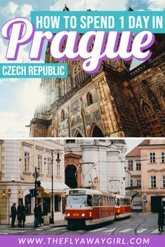There are so many things to do in Prague and it can be overwhelming for first time visitors! These are my recommendations of what to do with one day in Prague - make sure to add these to your Prague itinerary! Europe Travel Guide, Backpacking Europe, Travel Destinations, Travel Guides, Best Places To Travel, Best Cities, Cool Places To Visit, European Destination, European Travel
