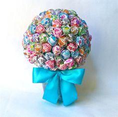 Lollipop Bouquet l Lollipop Tree l Candy Bouquet l Candy Land l Birthday Mitzvah Wedding Decor Party Favor