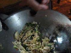 Jakarta street food 52 fried noddles (mie goreng )