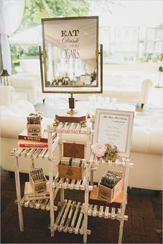 Cool idea for the cigar bar. a cigar bar is a cool idea Wedding Favors, Wedding Events, Our Wedding, Dream Wedding, Wedding Scene, Weddings, Wedding Locations, Summer Wedding, Destination Wedding