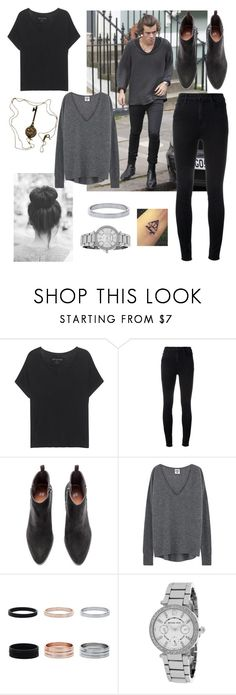 """Stealing Harry's Style female version"" by lana21love ❤ liked on Polyvore featuring True Religion, J Brand, Michael Kors and Tiffany & Co."