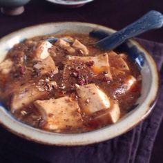 (不放肉的麻婆豆腐)  ひき肉の代わり、今まで色々試したんですけどやっぱり椎茸が一番好き!  今日は山形のモダシ(野生のキノコ)もざく切りで入れました。  娘さんがお肉が苦手で、このヴィーガン麻婆豆腐作ってくれたゆみちゃん、食べ友させてくださいな - 214件のもぐもぐ - お肉の代わりに椎茸の微塵切りで ヴィーガン麻婆豆腐 by machimachicco