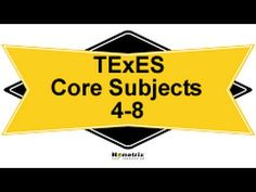 Free TExES Core Subjects 4-8 (211) Study Guide - YouTube