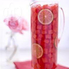 Rezeptbild: Sangria mit Wassermelone