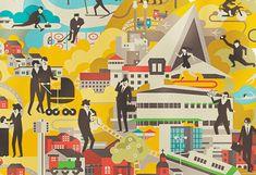 City of Hyvinkää Illustrations by Vesa Sammalisto