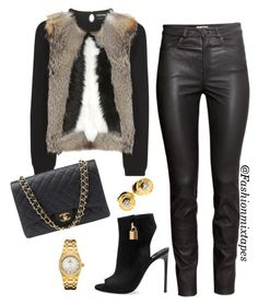 """""""Untitled #69"""" by divamanda on Polyvore featuring Tom Ford, H&M, Audemars Piguet, Chanel and Louis Vuitton"""