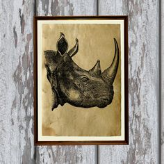 Hey, I found this really awesome Etsy listing at https://www.etsy.com/listing/163673281/animal-illustration-rhino-print-nature