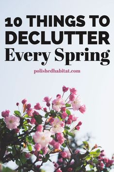 This simple spring declutter checklist will help you keep your house organized year round. It covers 10 specific spots in your home to work through at your own pace this spring to stop you from feeling overwhelmed. Spring Cleaning Organization, Spring Cleaning Checklist, Home Organization Hacks, Cleaning Tips, Organization Ideas, Cleaning Schedules, Weekly Cleaning, Speed Cleaning, Declutter Home