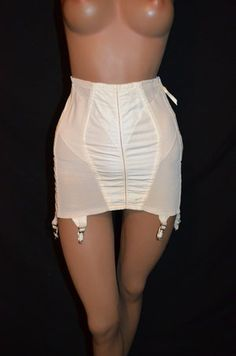 Vintage Girdle, Vintage Lingerie, Historical Clothing, All In One, 1950s, Skirt, Lady, Clothes, Style