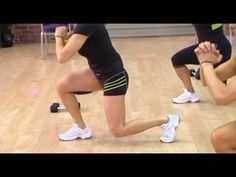Cathe Friedrich's Lean Legs and Abs workout video