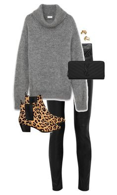 """Untitled #11319"" by alexsrogers ❤ liked on Polyvore featuring Yves Saint Laurent, women's clothing, women, female, woman, misses and juniors"