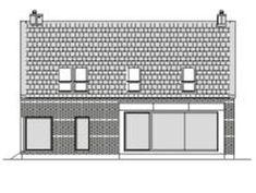 DOM.PL™ - Projekt domu DZW ATRAKCYJNY 1 CE - DOM DW1-43 - gotowy koszt budowy Dom, Floor Plans, House, Design, Home, Homes, Floor Plan Drawing, Houses