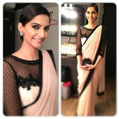 Chic indian evening wear
