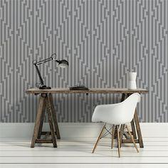 Cole & Son Diamond Stripe wallpaper