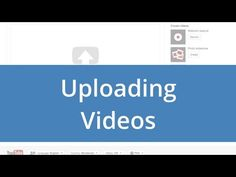 Upload basics - YouTube Tips & Tricks > Laden Grundlagen