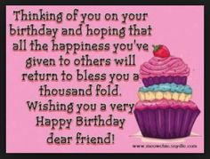 Best Birthday Wishes For Her Quotes People Ideas Biblical Birthday Wishes, Best Birthday Wishes Quotes, Birthday Wishes Greetings, Birthday Wishes For Brother, Friend Birthday Quotes, Birthday Wishes And Images, Birthday Blessings, Happy Birthday Sweet Lady, Happy Birthday Brother Quotes