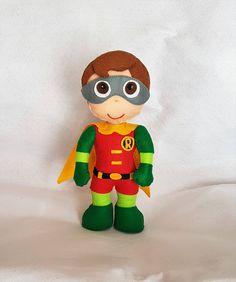 Robin, Batman e Robin, Marvel gift,Robin gioco, regalo ragazzo, pupazzi cartoon, stoffed dolls, regalo personalizzato, supereroi. Made Italy